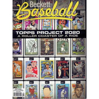2021 Beckett Baseball Monthly Price Guide (#179 February) (Topps Project 2020)