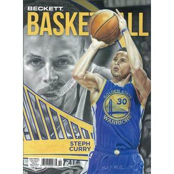 2019 Beckett Basketball Monthly Price Guide (#325 October) (Steph Curry)
