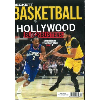 2019 Beckett Basketball Monthly Price Guide (#327 December) (Hollywood Blockbusters)