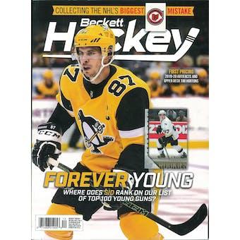 2019 Beckett Hockey Monthly Price Guide (#328 December) (Sidney Crosby)