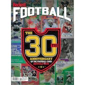 2019 Beckett Football Monthly Price Guide (#341 June) (30th Anniversary)
