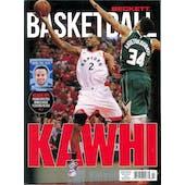 2019 Beckett Basketball Monthly Price Guide (#322 July) (Kawai Leonard)