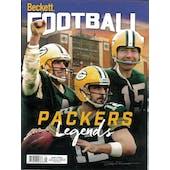 2019 Beckett Football Monthly Price Guide (#344 September) (Packers Legends)