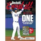2019 Beckett Baseball Monthly Price Guide (#161 August) (Cody Bellinger)