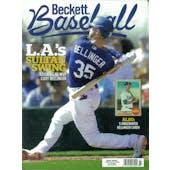 2020 Beckett Baseball Monthly Price Guide (#170 May) (Cody Bellinger)