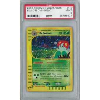 Pokemon Aquapolis Bellossom H5/H32 PSA 9