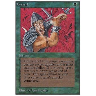 Magic the Gathering Unlimited Single Berserk - SLIGHT PLAY (SP)