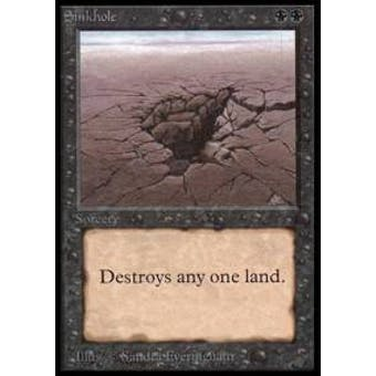 Magic the Gathering Beta Single Sinkhole - NEAR MINT (NM)