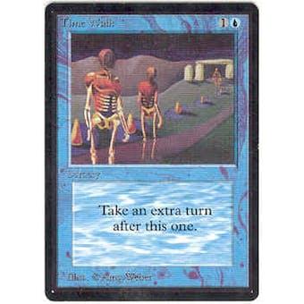 Magic the Gathering Beta Single Time Walk - SLIGHT PLAY (SP)