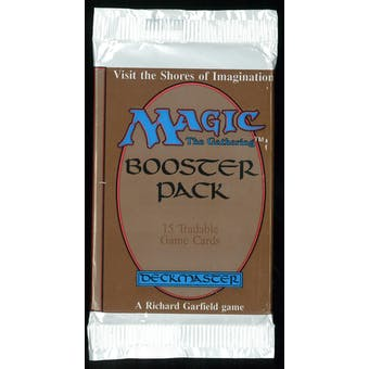 Magic the Gathering Beta Booster Pack - UNSEARCHED (very thick wrap) #1