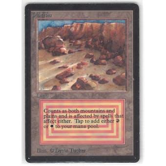Magic the Gathering Beta Single Plateau - SLIGHT PLAY (SP)