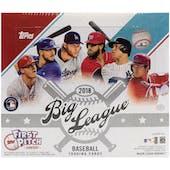 2018 Topps Big League Baseball Hobby Box