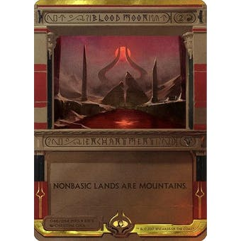 Magic the Gathering Amonkhet Invocation Single Blood Moon FOIL - NEAR MINT (NM)