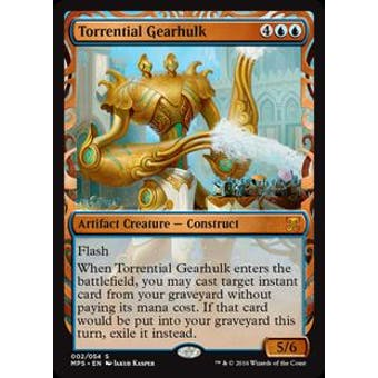Magic the Gathering Kaladesh Inventions Single Torrential Gearhulk FOIL - NEAR MINT (NM)