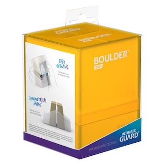 Ultimate Guard Boulder 100+ Deck Box - Amber