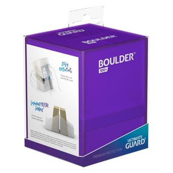 Ultimate Guard Boulder 100+ Deck Box - Amethyst