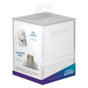 Ultimate Guard Boulder 100+ Deck Box - Frosted