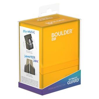 Ultimate Guard Boulder 60+ Deck Box - Amber