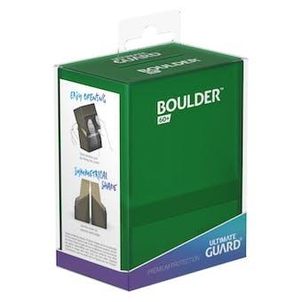 Ultimate Guard Boulder 60+ Deck Box - Emerald