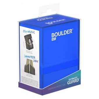Ultimate Guard Boulder 60+ Deck Box - Sapphire
