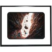 "Magic the Gathering Original Artwork ""Boulderfall"" By Artist Ralph Horsley"