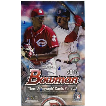 2018 Bowman Baseball Hobby Jumbo Box