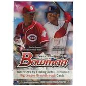 2018 Bowman Baseball 8-Pack Blaster Box