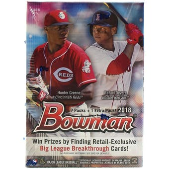 2018 Bowman Baseball 8-Pack Blaster Box
