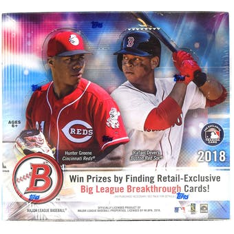 2018 Bowman Baseball 24-Pack Box