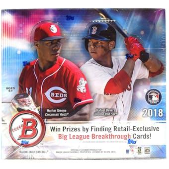 2018 Bowman Baseball 24-Pack Box