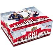 2017/18 Upper Deck CHL Prospects Hockey Hobby 10-Box Case
