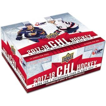 2017/18 Upper Deck CHL Prospects Hockey Hobby Box