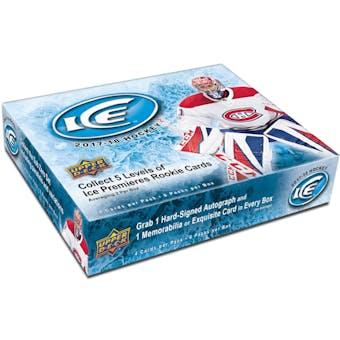2017/18 Upper Deck Ice Hockey 20-Box Case- DACW Live 31 Team Random Break #1