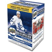 2019/20 Upper Deck Series 2 Hockey 7-Pack Blaster 20-Box Case (Presell)