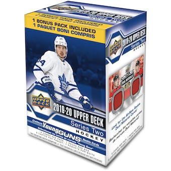 2019/20 Upper Deck Series 2 Hockey 7-Pack Blaster 20-Box Case (Presell)