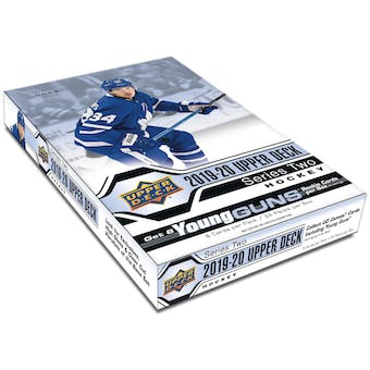 2019/20 Upper Deck Series 2 Hockey Hobby 12-Box Case (Presell)