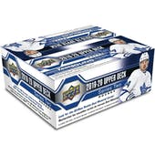 2019/20 Upper Deck Series 2 Hockey 24-Pack 20-Box Case (Presell)
