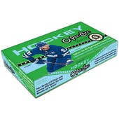 2019/20 Upper Deck O-Pee-Chee Hockey Hobby 16-Box Case (Presell)