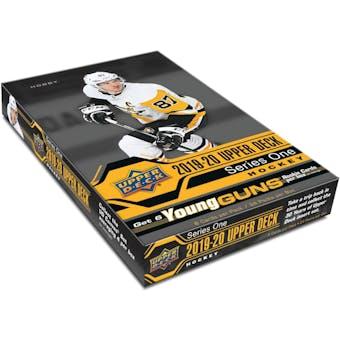 2019/20 Upper Deck Series 1 Hockey Hobby 12-Box Case (Presell)