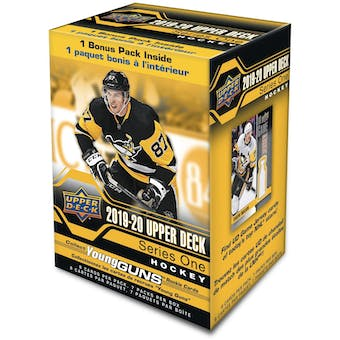 2019/20 Upper Deck Series 1 Hockey 7-Pack Blaster Box