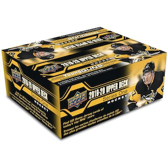 2019/20 Upper Deck Series 1 Hockey 24-Pack 20-Box Case (Presell)