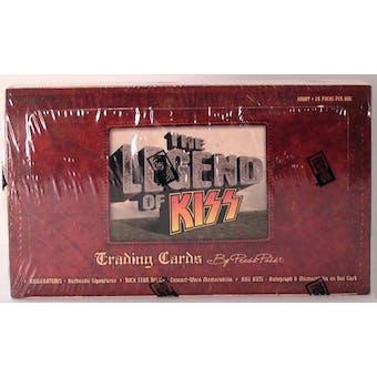 The Legends of KISS Hobby Box (Press Pass 2010)