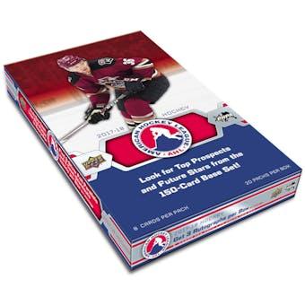 2017/18 Upper Deck AHL Hockey Hobby Box