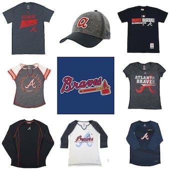 Atlanta Braves Officially Licensed MLB Apparel Liquidation - 460+ Items, $18,500+ SRP!