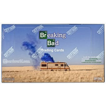 Breaking Bad Season 1-5 Trading Cards Box (Cryptozoic 2014)