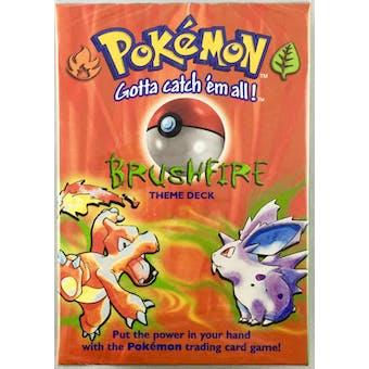 WOTC Pokemon Base Set 1 Brushfire Theme Deck (Factory Sealed)