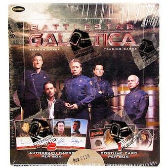 Battlestar Galactica Season 3 Trading Cards Box (Rittenhouse 2008)