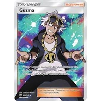 Pokemon Burning Shadows Single Guzma 143/147 FULL ART - SLIGHT PLAY (SP) Sick Deal Pricing