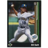 1989 Upper Deck Bill Swift Seattle Mariners #623 Black Border Proof