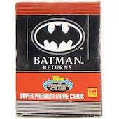 Batman Returns Hobby Box (1992 Topps Stadium Club) (Reed Buy)